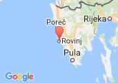 ACI Marina Rovinj Map