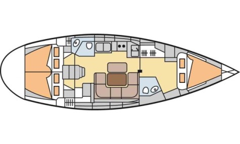 Bavaria 42 Cruiser bavaria42_3_cabins