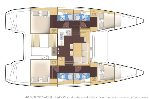 Lagoon 40 Motor Yacht lg3xa-v4c4t