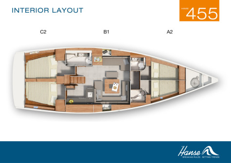 Hanse 455 layout-148