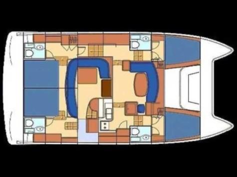 Lagoon Powercat 43 layout-152