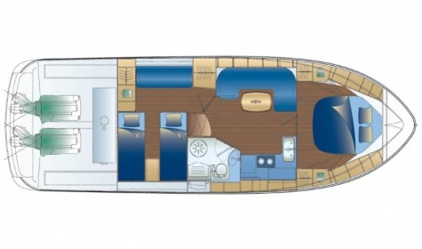 Bavaria 37 Sport layout-16