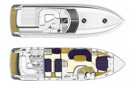 Princess V42 layout-155