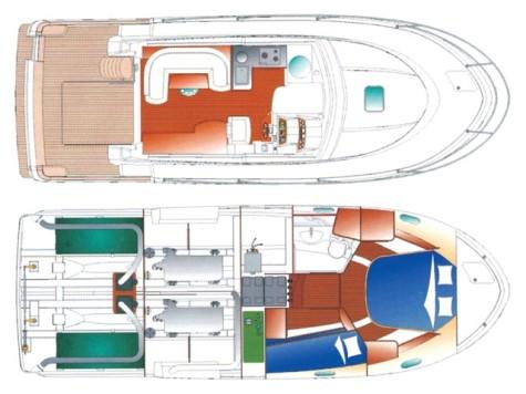 Beneteau Antares 9.80 layout-20