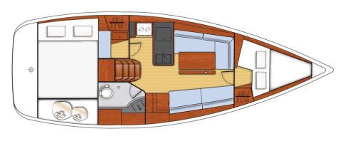 Beneteau Oceanis 31 layout-27