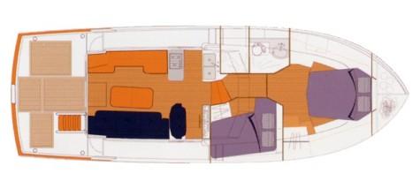 Beneteau Trawler 42 layout-29