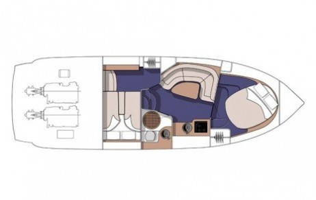Cranchi 34 Zaffiro layout-30