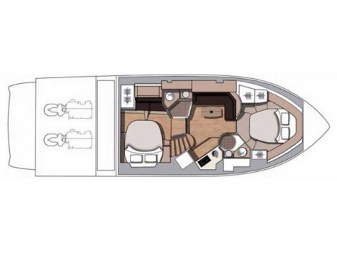 Cranchi 43 Sport Top layout-34