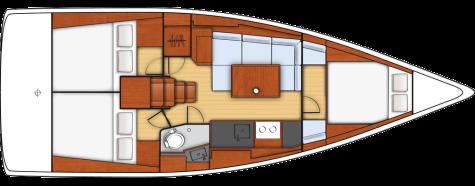 Beneteau Oceanis 38 layout-59