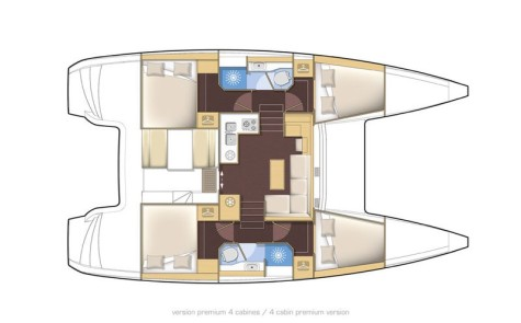 Lagoon 39 layout-115