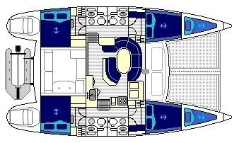 Lagoon 410 S2 layout-117