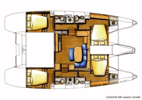 Lagoon 420 layout-118
