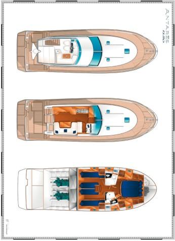 Beneteau Antares 13.80 layout-53
