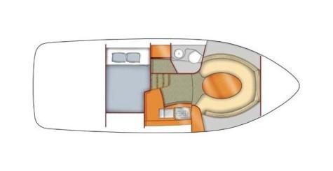 Bayliner 265 Ciera layout-156