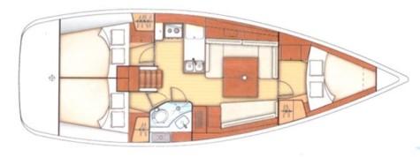 Beneteau Oceanis 37 layout-58