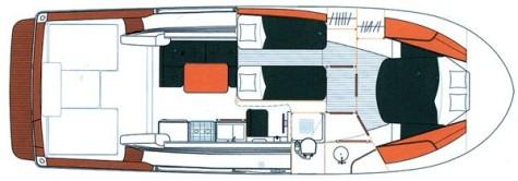 Beneteau Antares 10.80 layout-21