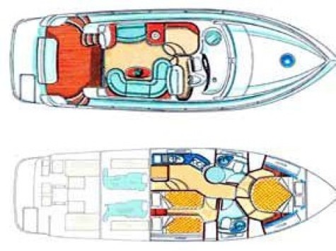 Azimut 39 Fly layout-11