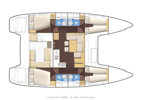 Lagoon 400 S2 l400-3-en-cours-2013
