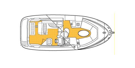 Bayliner 245 Ciera layout-122