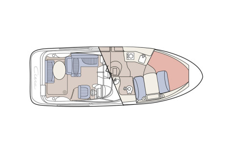 Bayliner 275 Ciera layout-124