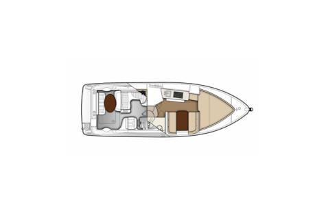 Bayliner 285 Ciera layout-125