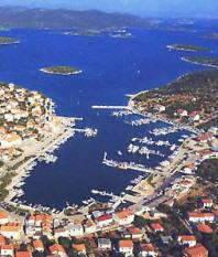 Marina Jezera in Murter Croatia