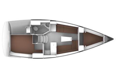 Bavaria 33 Cruiser plan-2014