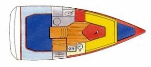 Sun Odyssey 26 plan-13