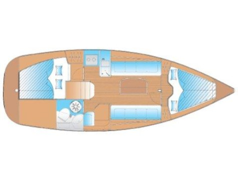 Bavaria 30 Cruiser plan-14