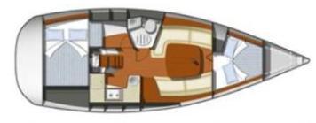 Sun Odyssey 32i plan-24