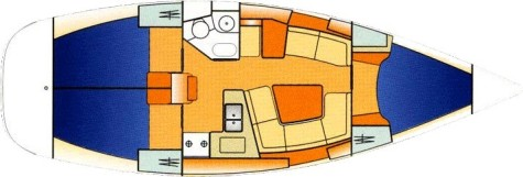 Sun Odyssey 37 plan-55