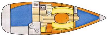 Sun Odyssey 32 plan-26