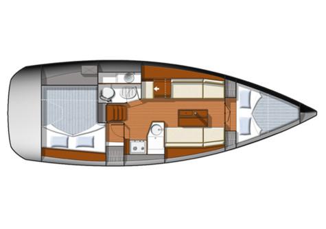 Sun Odyssey 33i plan-28