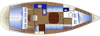 Bavaria 37 Cruiser plan-29