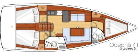 Beneteau Oceanis 41 plan-32