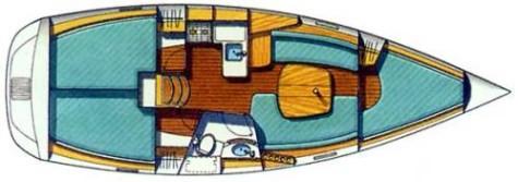 Beneteau Oceanis 331 plan-33