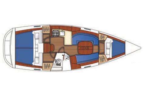 Beneteau Oceanis 343 plan-34