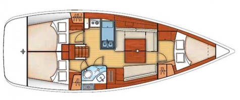 Beneteau Oceanis 373 plan-35
