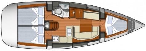 Sun Odyssey 35 plan-58