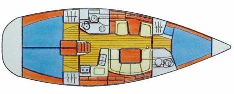Sun Odyssey 40 plan-48