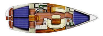 Sun Odyssey 40.3 plan-49