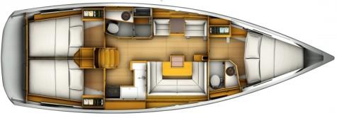 Sun Odyssey 409 plan-52