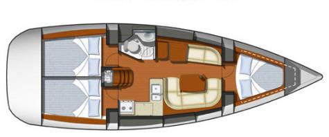 Sun Odyssey 36i plan-54