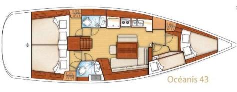 Beneteau Oceanis 43 plan-63