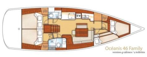Beneteau Oceanis 46 plan-69