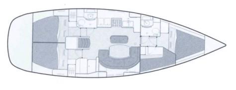 Beneteau Oceanis 411 plan-70