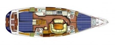 Sun Odyssey 49 i plan-85