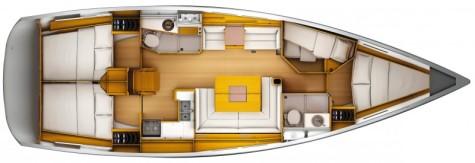 Sun Odyssey 439 plan-87