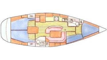 Sun Odyssey 42.2 plan-88