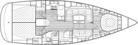 Bavaria 40 Vision plan-9